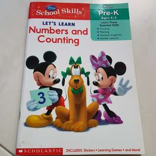 Disney Let's Learn Numbers & Counting
