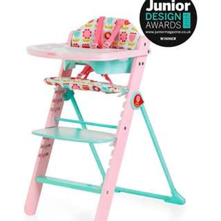 BRAND NEW** Cosatto Waffle Highchair - Heidi