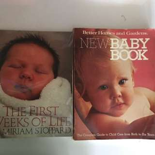 2 Baby Books - Bundle Deal