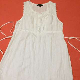 Mastina off white Boho style dress! Can fit up to semi large