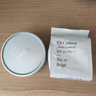 Laneige Pore Control BB Cushion SPF 50+ PA+++