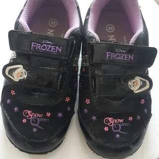 Sepatu Anak Perempuan Disney Frozen ukuran 28