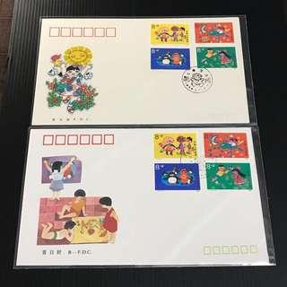 China Stamp - T137 首日封 FDC 中国邮票 1989