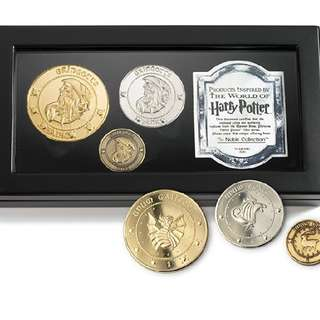 Harry Potter Collectors' Item Gringotts Bank Coin Collection