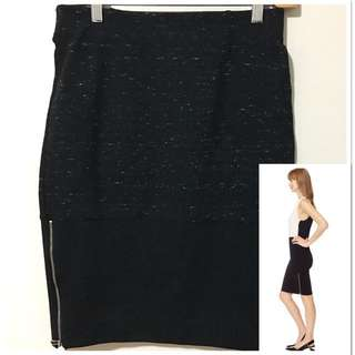 Artizia Wilfred 8 Campagne Black Skirt