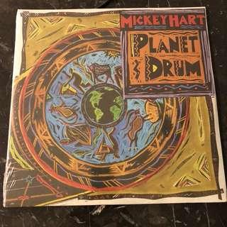 Mickey Hart - Planet Drum . Vinyl Lp. New