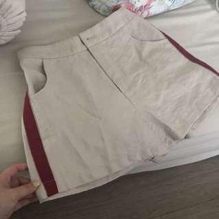 Celana pendek cream