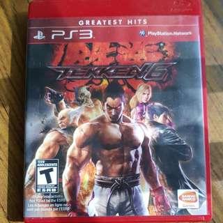 PS3 Game Tekken 6