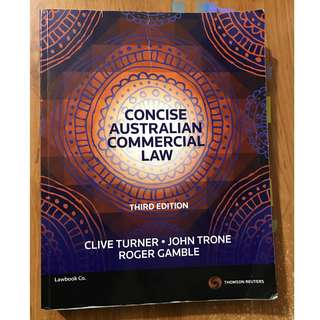 concise australian commercial law 3rd edition