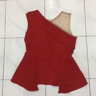 Red top furing