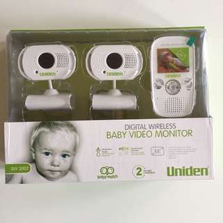 2 Camera Baby Monitor System - Uniden BW3002