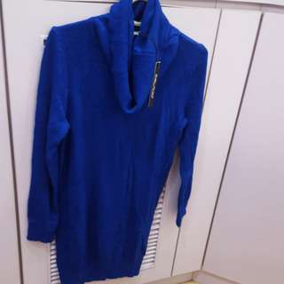 寶藍冷線衫