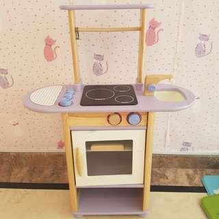Kitchen play/kitchen cabinet/ pretend kitchen