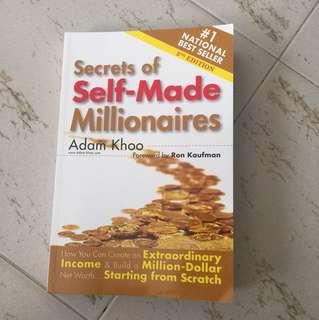 Secrets of self made millionaires by Adam khoos