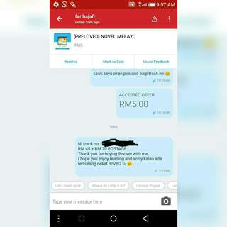 THANK YOU CUSTOMER! (NOVEL MELAYU)