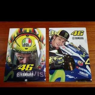 MotoGP羅西 資料夾 2種樣式