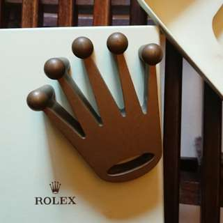Rolex Solid Brass Crown Paperweight 紙鎮