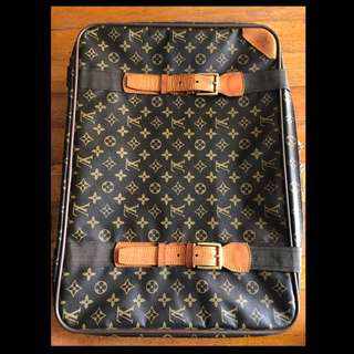LOUIS VUITTON Monogram Canvas Satellite 65 Soft Suitcase