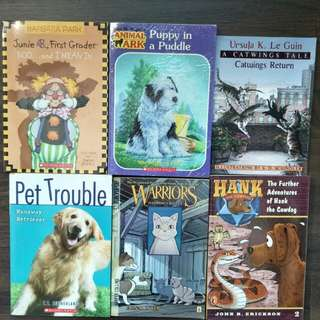 Chapter Books with Animals