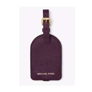 Personalized MICHAEL KORS Luggage Tag