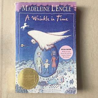 A wrinkle in time by Madeleine L'Engle Newbery medal