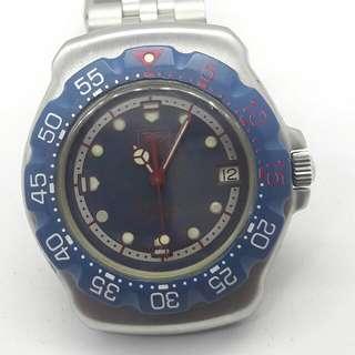 Tag Heuer F1 blue midsize 37mm
