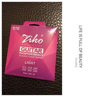 (包平郵) (代Post) 🎉🎸Acoustic Guitar Strings - Blue Fusion Music