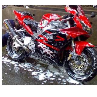 GLASS COATING FOR MOTOR BIKE