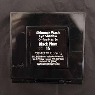 Bobbi Brown Shimmer Wash Eye Shadow in Black Plum