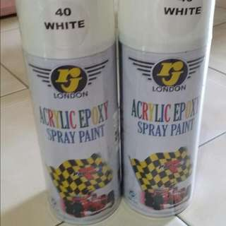 BNIB Spray Paint-white