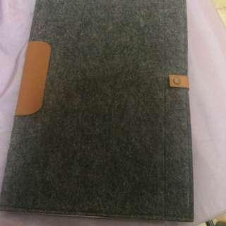 Laptop bag grey