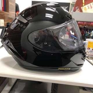 WTS Shoei Xspirit III Black helmet Large