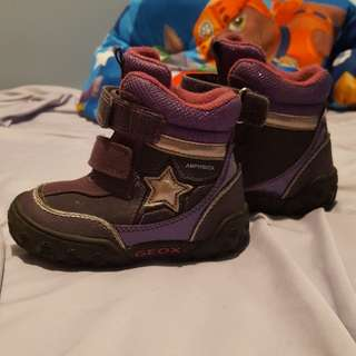 Geox Respira toddler girls boots