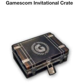 PUBG Gamescom Invitational crate
