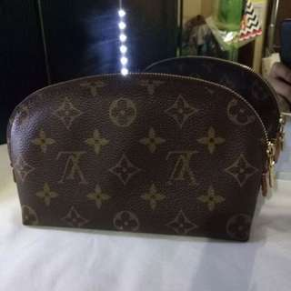 Lv monogram cosmetic pouch pm
