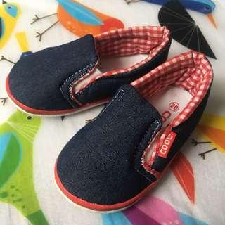 Sepatu Anak Slip-On Denim