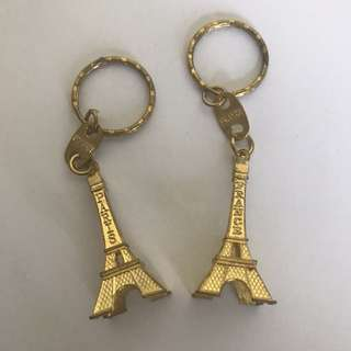 [₱50 FOR BOTH] Eiffel Tower Keychains