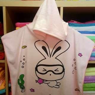 child swim roll on towel