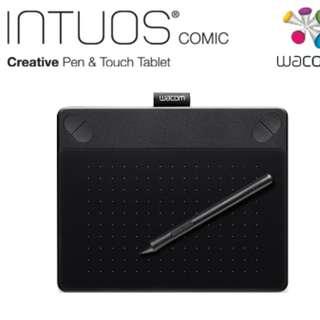 Intuos Comic 動漫創意 觸控繪圖板-經典黑(S)