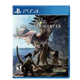 Monster hunter world  (R1)