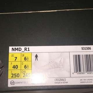 NEW BNIB ADIDAS NMD R1 Triple White