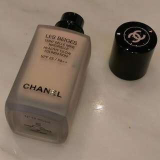 Chanel Les Beige Healthy Glow Foundation 😂