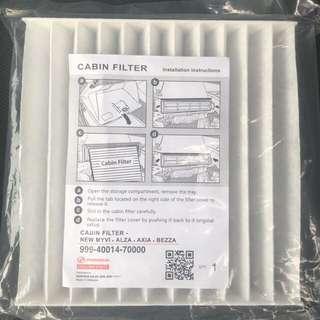 Aircond cabin filter (Perodua)