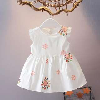 White Sweet Baby Dress