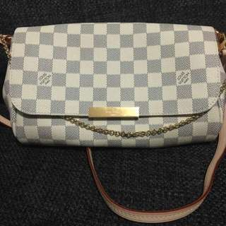 Louis vuitton favorite azur damier