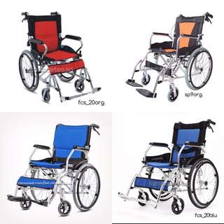 Manual self propelled wheelchair