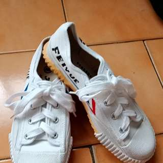 FEIYUE 經典小白鞋