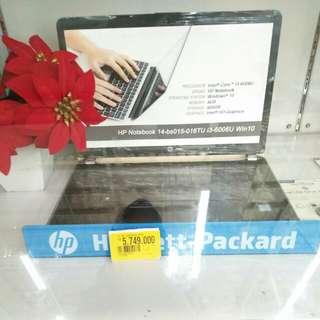 Laptop HP 14-es015tu bisa dicicil cepat