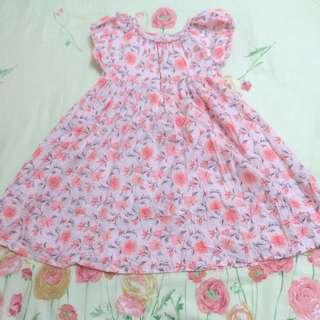 🌸外貿花樣洋裝3歲