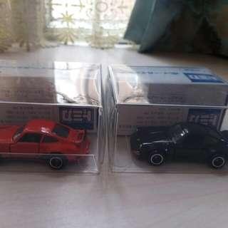 Tomica 兩架車